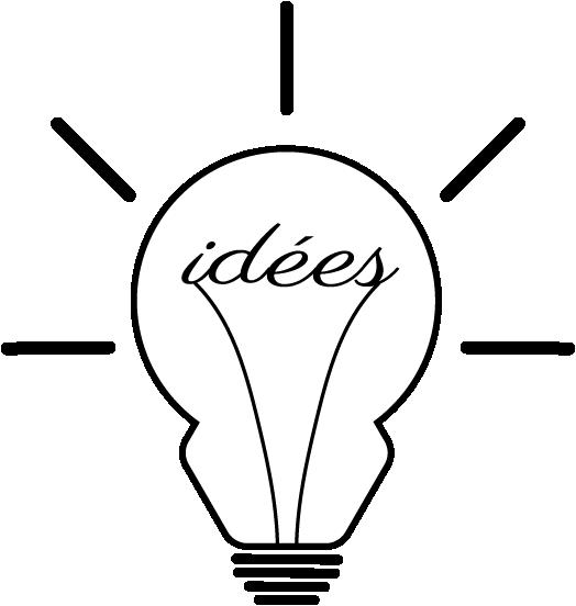 pictogramme illustration créativité idées