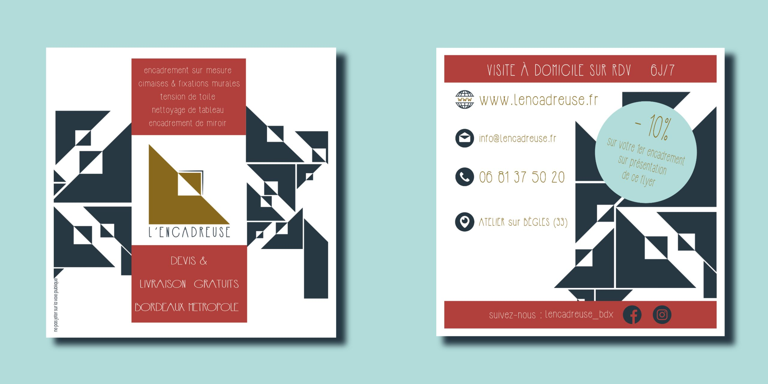 mock up identité visuelle de design by ds